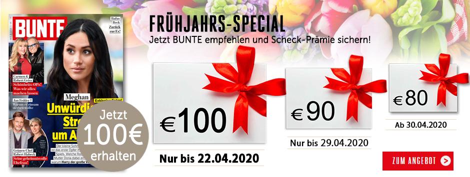 BUNTE - Countdown Frühjahrs-Special 2020