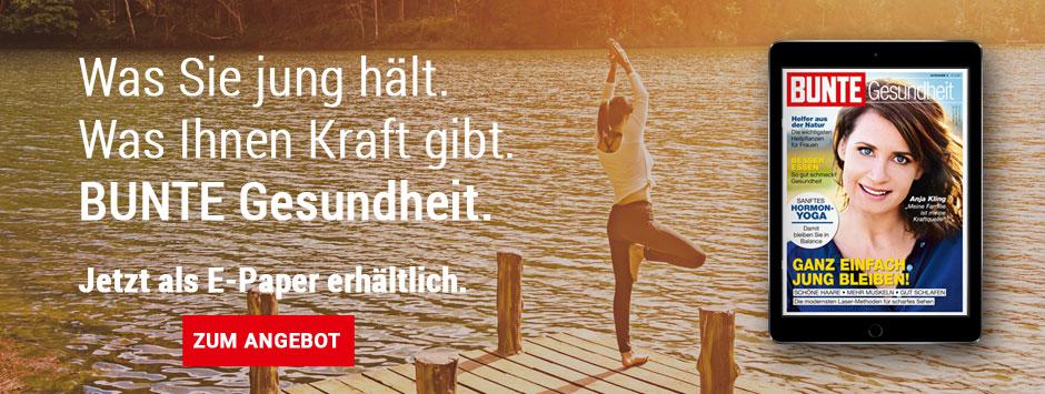 BUNTE E-Paper Sonderheft Gesundheit Good Aging