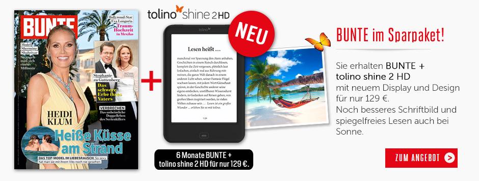 BUNTE Sparpaket Tolino Shine 2 HD