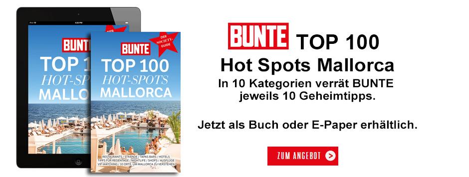 BUNTE - TOP 100 HOT SPOTS Mallorca