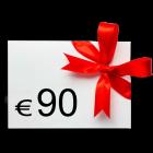 90 € Verrechnungsscheck