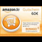 60 € Amazon.de Gutschein