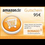 95 € Amazon.de Gutschein