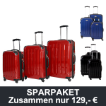 3-teiliges Trolleykoffer-Set