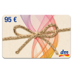 95 € DM-DROGERIE GUTSCHEIN