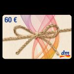60 € dm-Drogerie Gutschein
