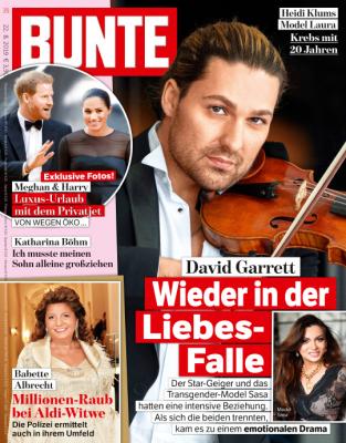 BUNTE - aktuelle Ausgabe 34/2019