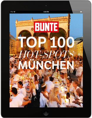 BUNTE Top 100 Hot Spots München - Sommer 2018
