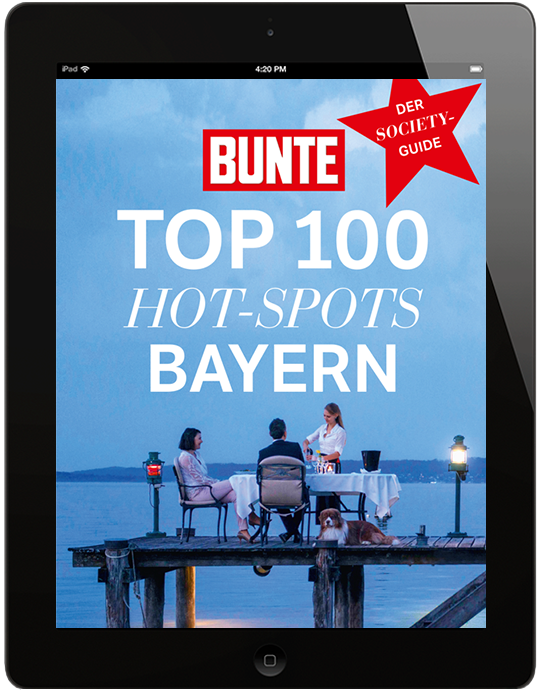 BUNTE Top 100 Hot-Spots Bayern