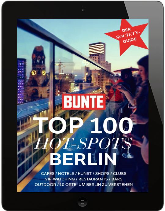 bunte bunte top 100 hot spots berlin sommer 2018 offizieller aboshop. Black Bedroom Furniture Sets. Home Design Ideas